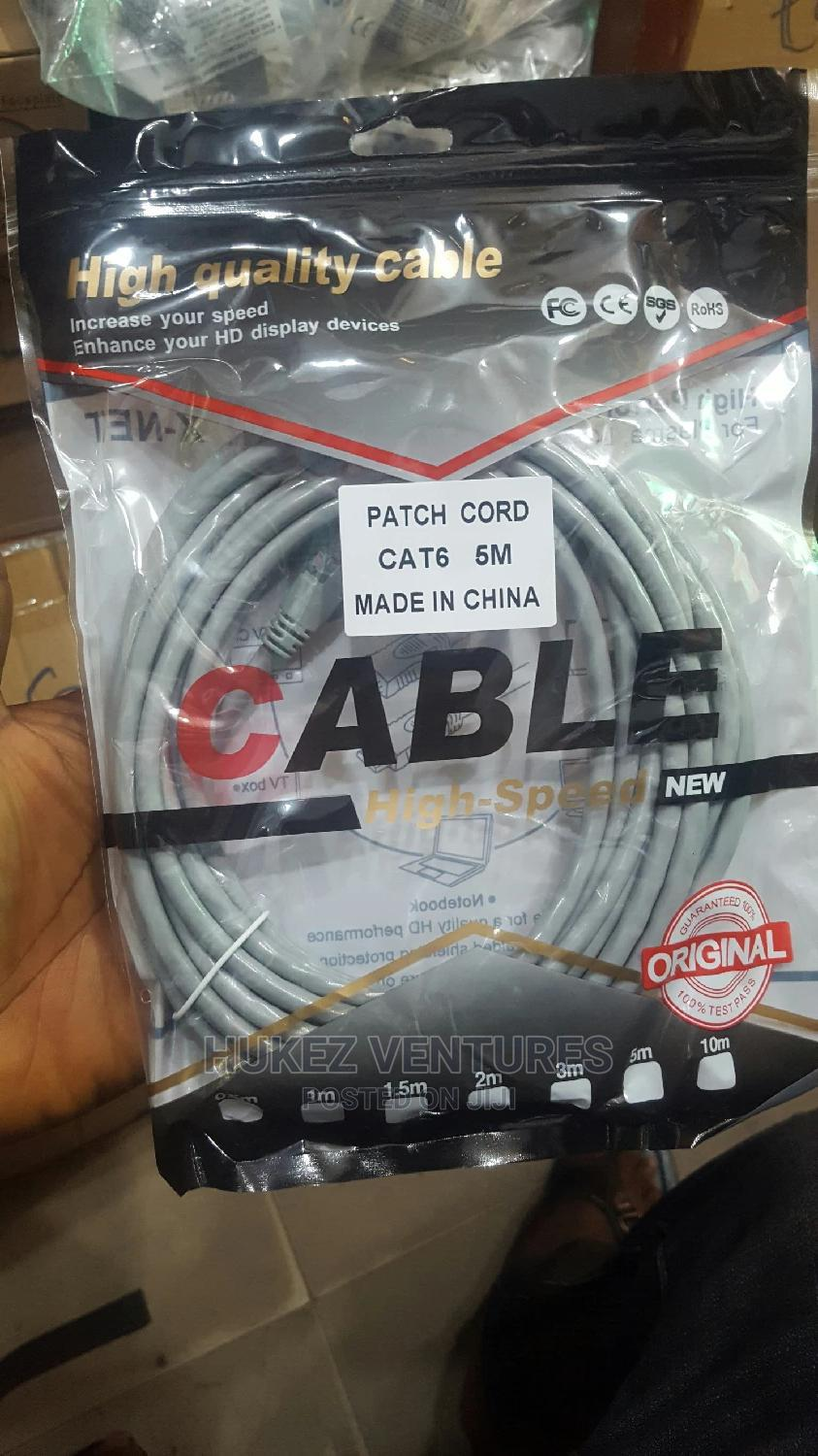 5m Patch Cord | Accessories & Supplies for Electronics for sale in Ikeja, Lagos State, Nigeria