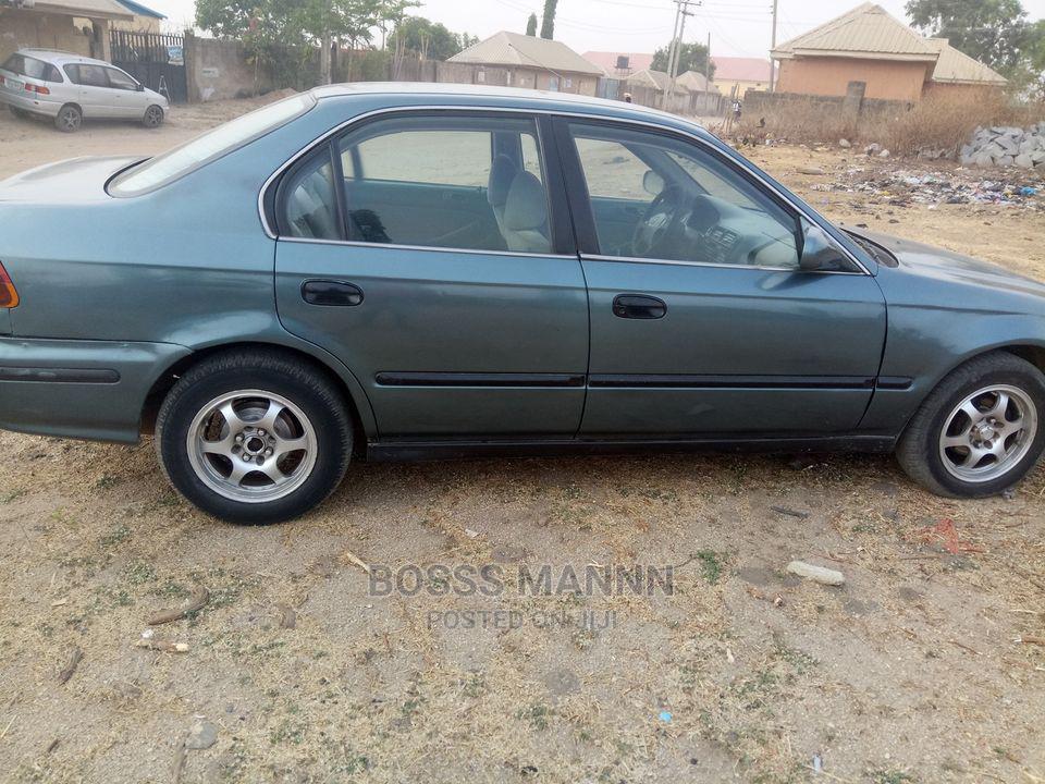 Honda Civic 1997 Gray | Cars for sale in Nyanya, Abuja (FCT) State, Nigeria