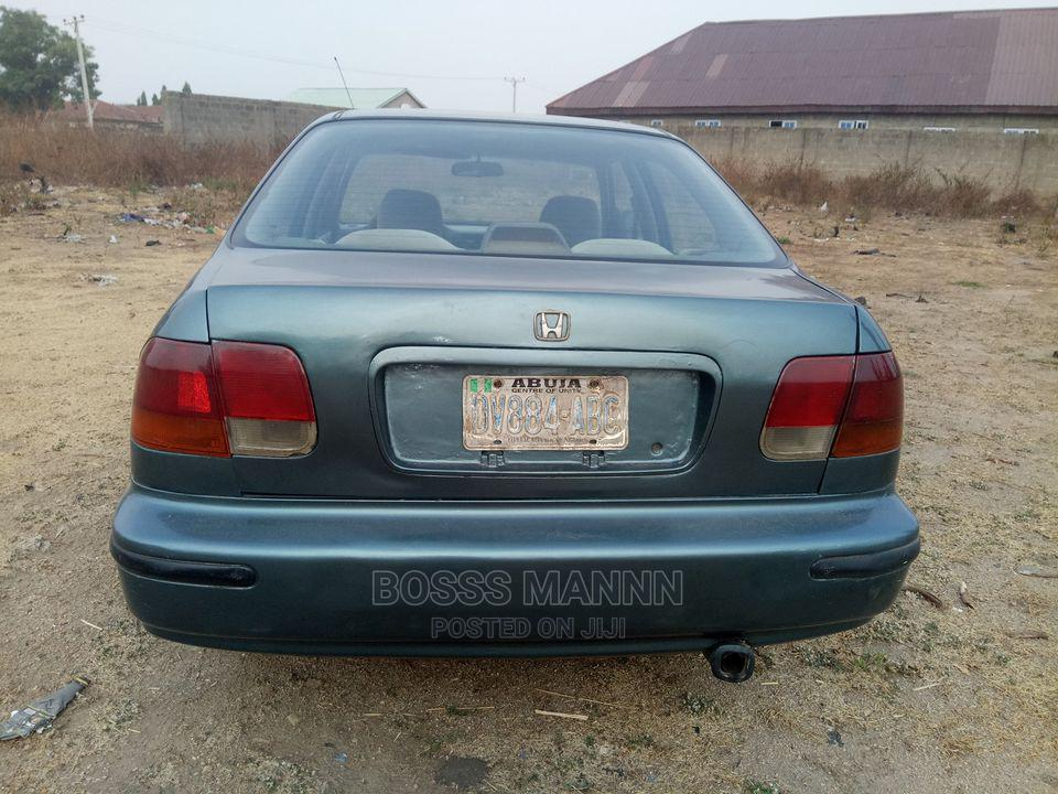 Honda Civic 1997 Gray | Cars for sale in Nyanya, Abuja (FCT) State, Nigeria