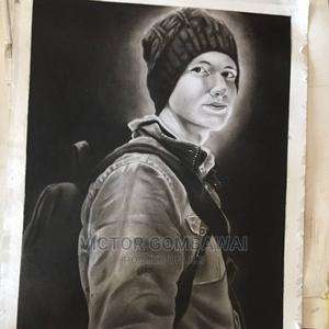 Pencil Portrait Drawing | Arts & Crafts for sale in Rivers State, Port-Harcourt