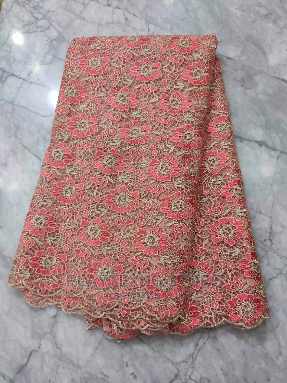 High Quality Lace Fabrics