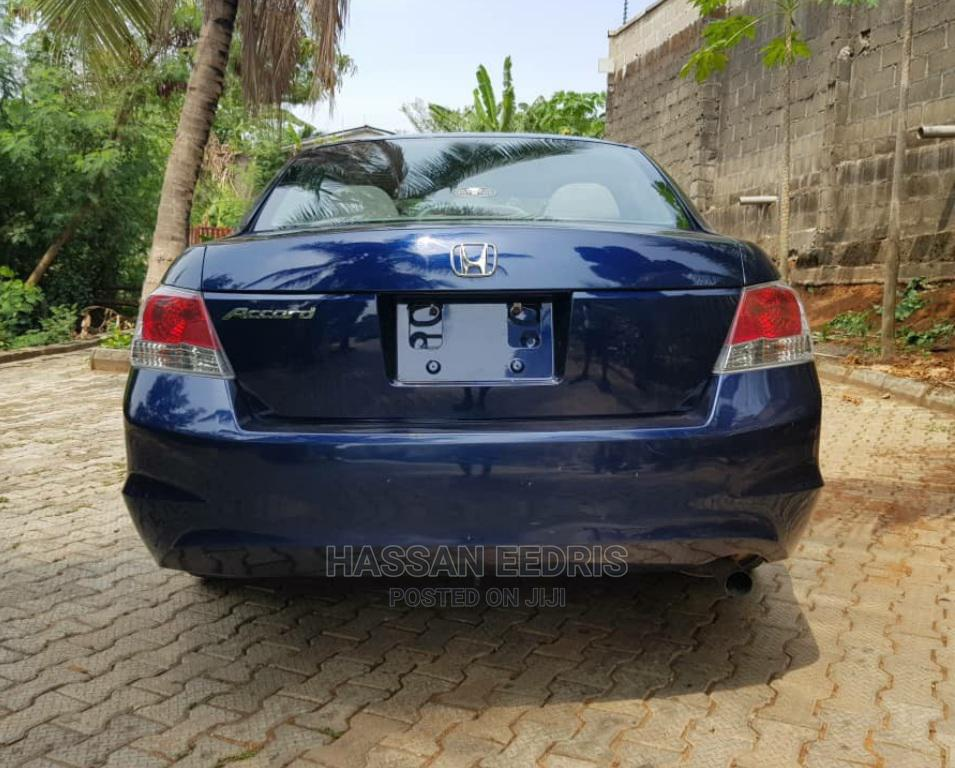 Honda Accord 2008 2.4 EX Automatic Blue | Cars for sale in Kosofe, Lagos State, Nigeria