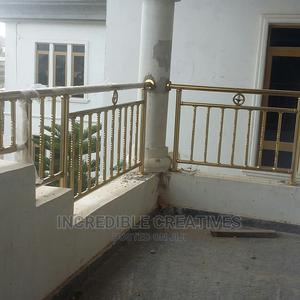 Gold Stainless Railings   Building & Trades Services for sale in Ondo State, Akure