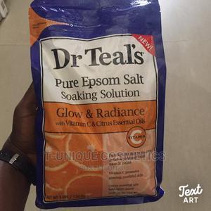 Dr Teal's Glow Radiance Pure Epsom Salt Soaking Solution | Bath & Body for sale in Lagos State, Ikorodu