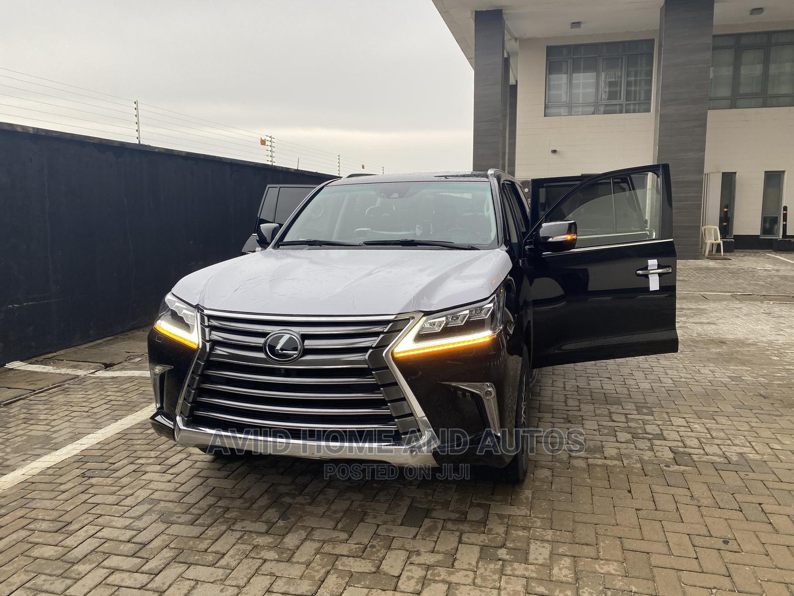 Lexus LX 2019 570 Three-Row Black