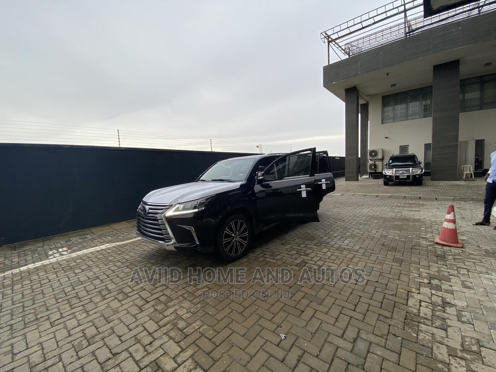 Lexus LX 2019 570 Three-Row Black | Cars for sale in Lekki, Lagos State, Nigeria