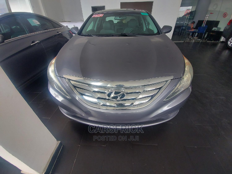 Hyundai Sonata 2012 Gray