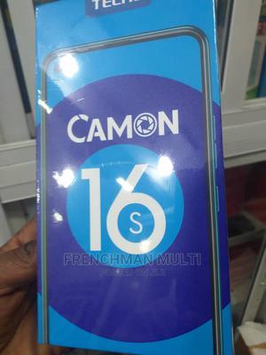 New Tecno Camon 16 64 GB Black | Mobile Phones for sale in Lagos State, Ikeja