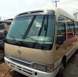 Tokunbo Toyota Coaster 2010 Brown   Buses & Microbuses for sale in Lagos State, Alimosho
