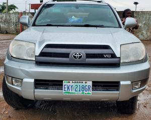 Toyota 4-Runner 2004 Limited 4x4 Silver | Cars for sale in Lagos State, Alimosho