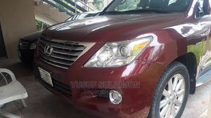 Lexus LX 2008 570 Red   Cars for sale in Lagos State, Ikoyi