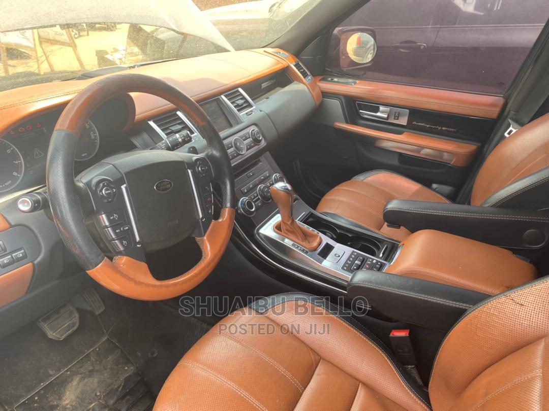 Land Rover Range Rover Sport 2012 Black | Cars for sale in Central Business Dis, Abuja (FCT) State, Nigeria