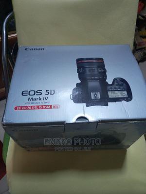 EOS 5D Mark IV 24-70 F4 Usm Canon Camera   Photo & Video Cameras for sale in Lagos State, Lagos Island (Eko)