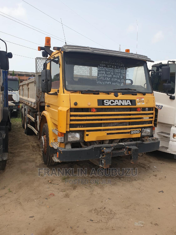European Used Scania Tipper