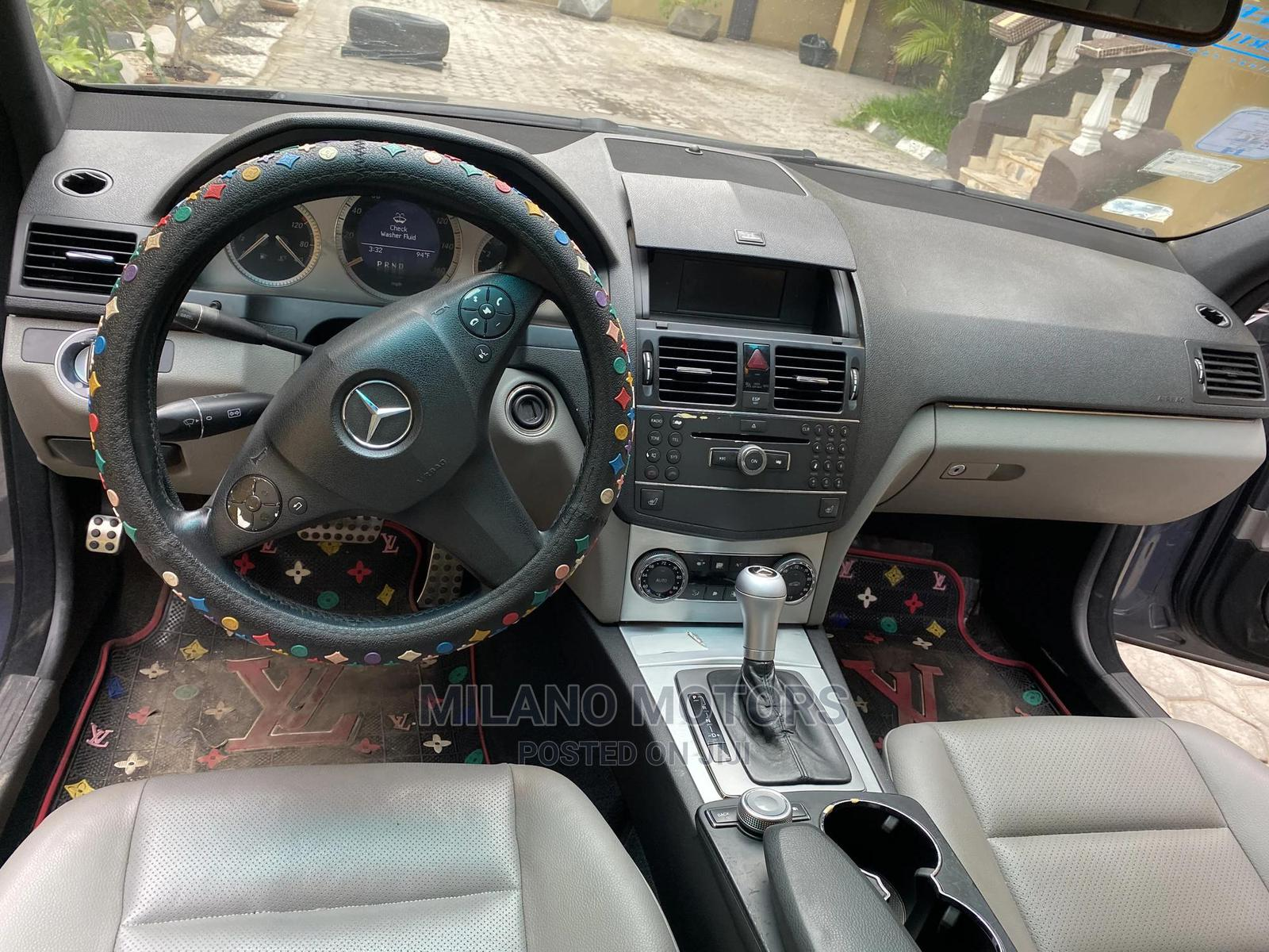 Archive: Mercedes-Benz C300 2008 Gray