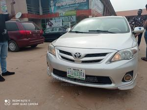 Toyota Corolla 2013 S 5-Speed Silver | Cars for sale in Delta State, Oshimili South