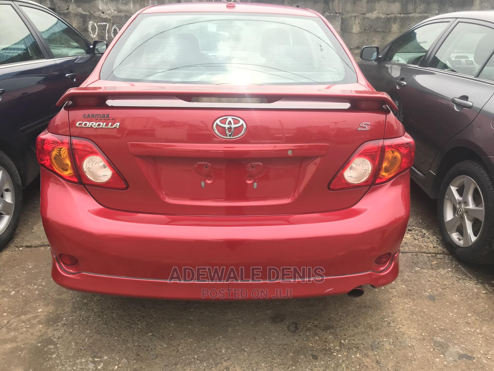 Toyota Corolla 2010 Red | Cars for sale in Ikeja, Lagos State, Nigeria