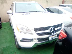 Mercedes-Benz M Class 2012 ML 350 4Matic White   Cars for sale in Lagos State, Ikeja