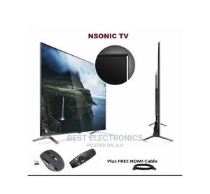 Nsonic 60 Inch Smart Television+Free Mouse + Free HDMI Cable | TV & DVD Equipment for sale in Abuja (FCT) State, Kado