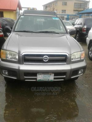 Nissan Pathfinder 2003 LE AWD SUV (3.5L 6cyl 4A) Gold | Cars for sale in Lagos State, Ifako-Ijaiye