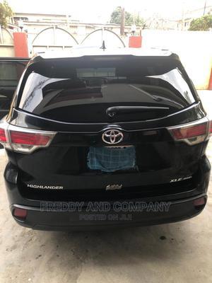 Toyota Highlander 2015 Black | Cars for sale in Lagos State, Ogudu