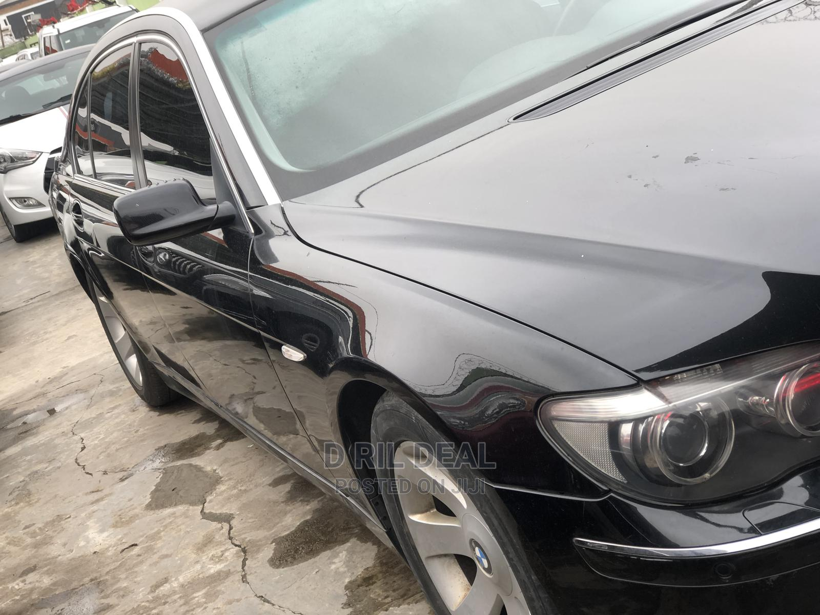 Archive: BMW 7 Series 2007 Black