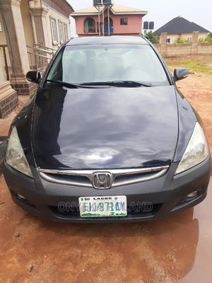 Honda Accord 2007 2.4 Black | Cars for sale in Edo State, Ikpoba-Okha