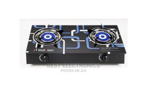 Nulek Double Burner Table Top Glass Gas Cooker | Kitchen Appliances for sale in Abuja (FCT) State, Asokoro
