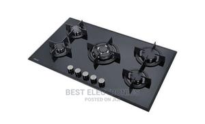 HOMETEC 90cm Built-In 5 Burner Gas on Glass Hob/Cooker AUT | Kitchen Appliances for sale in Abuja (FCT) State, Maitama