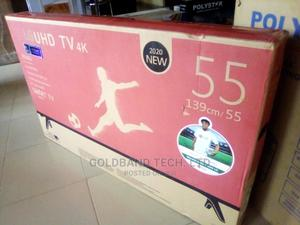 LG 55inches Smart Android TV With Internet Features Netflix | TV & DVD Equipment for sale in Lagos State, Ikeja