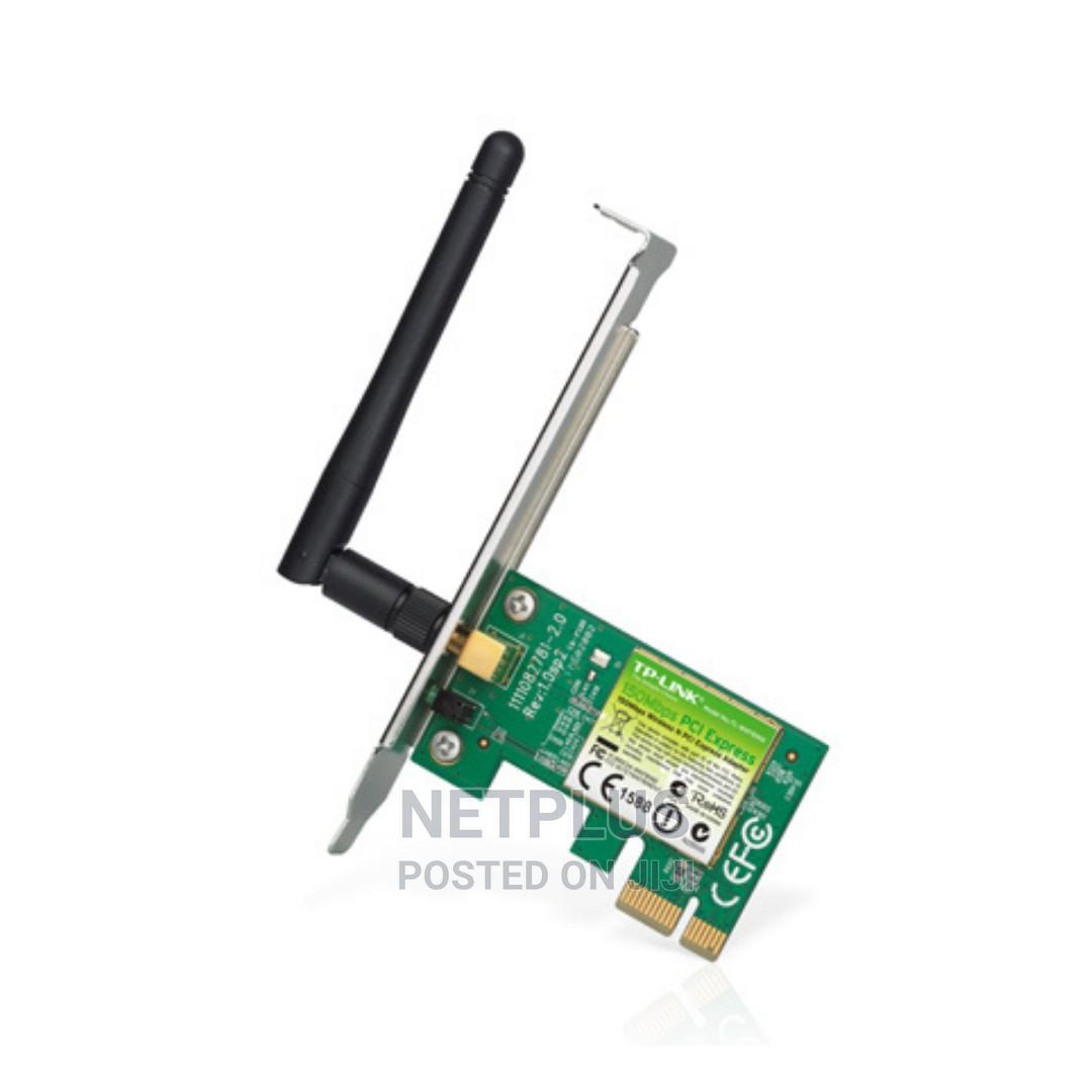 TP-LINK 150mbps Wireless N PCI Express Adapter   Networking Products for sale in Wuse, Abuja (FCT) State, Nigeria
