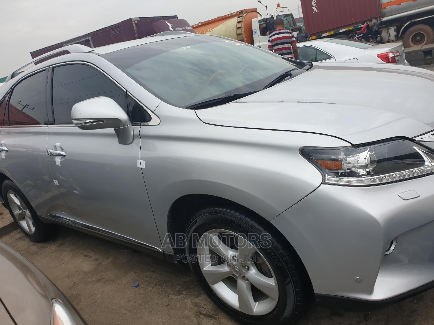 Lexus RX 2012 350 AWD Silver | Cars for sale in Apapa, Lagos State, Nigeria