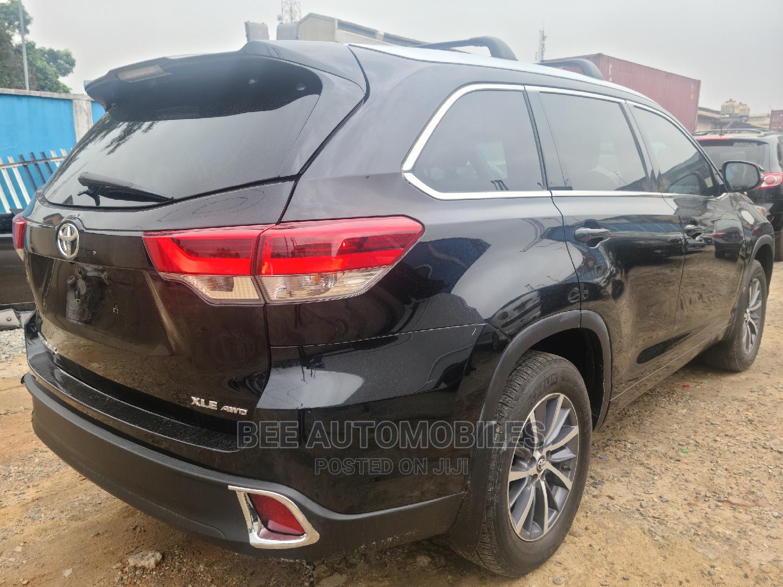 Toyota Highlander 2017 Black | Cars for sale in Ikeja, Lagos State, Nigeria