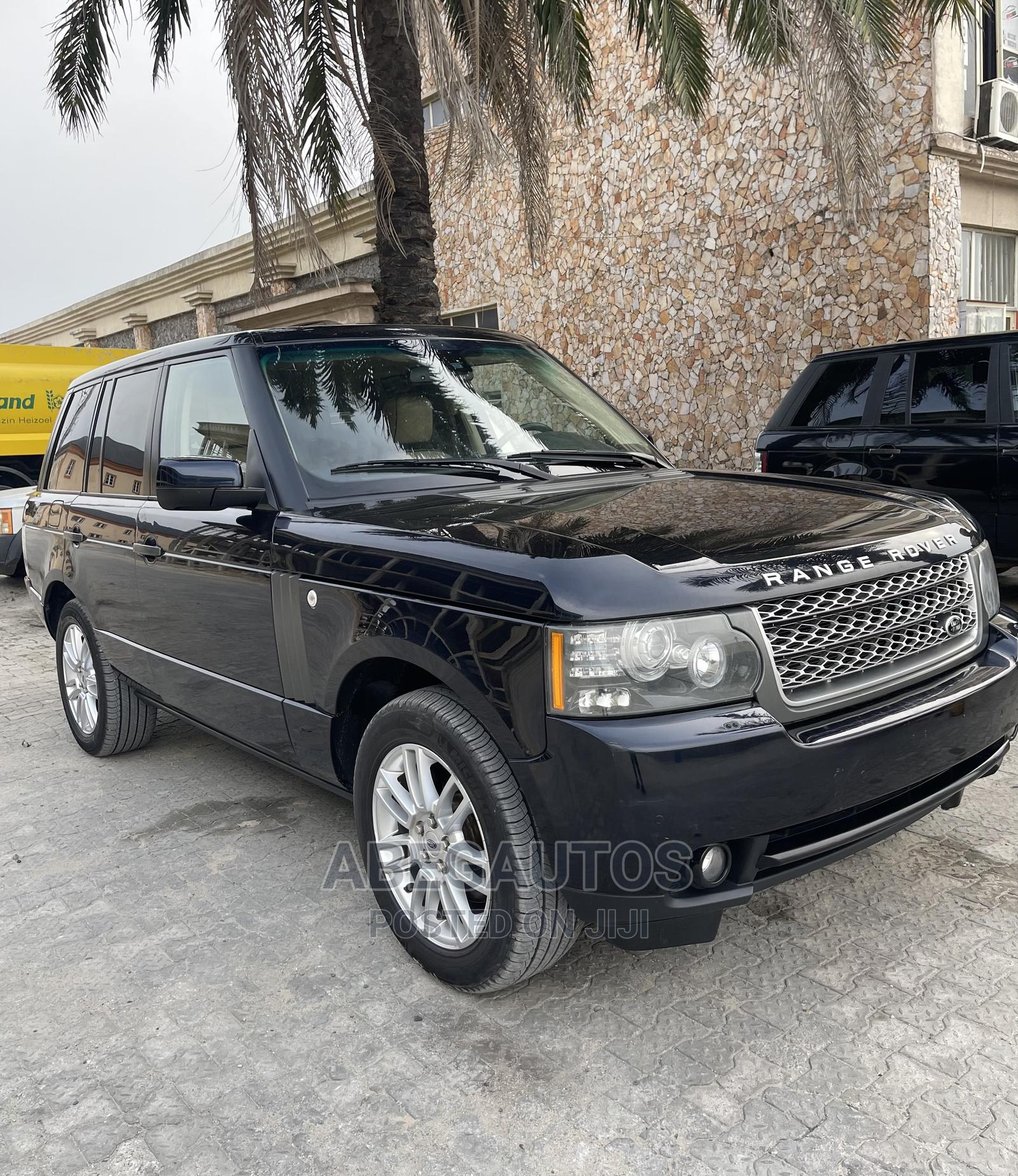 Land Rover Range Rover Vogue 2010 Black | Cars for sale in Ajah, Lagos State, Nigeria