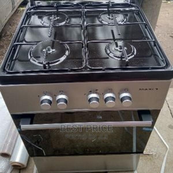 Maxi 4 Gas Burners 50/50 4 Burner + Ignition Oven Lamp