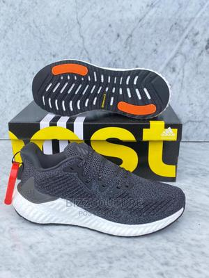 High Quality Adidas Gray Sneakers for Men | Shoes for sale in Lagos State, Magodo