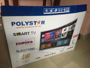 32 Inches Polystar Smart Curve Tv | TV & DVD Equipment for sale in Lagos State, Ajah