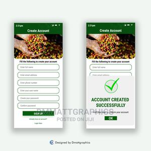 Mobile App Ui   Computer & IT Services for sale in Oyo State, Oyo