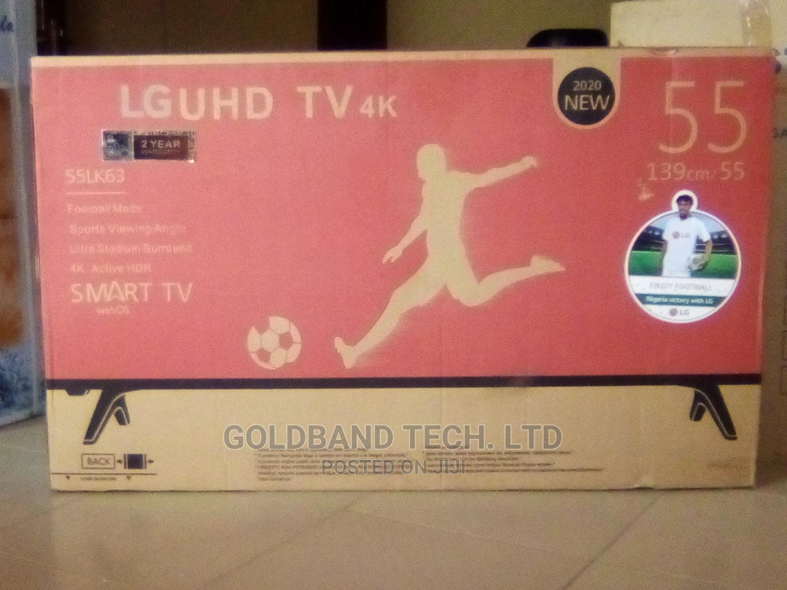 LG 55inches Smart Android TV With Internet Features