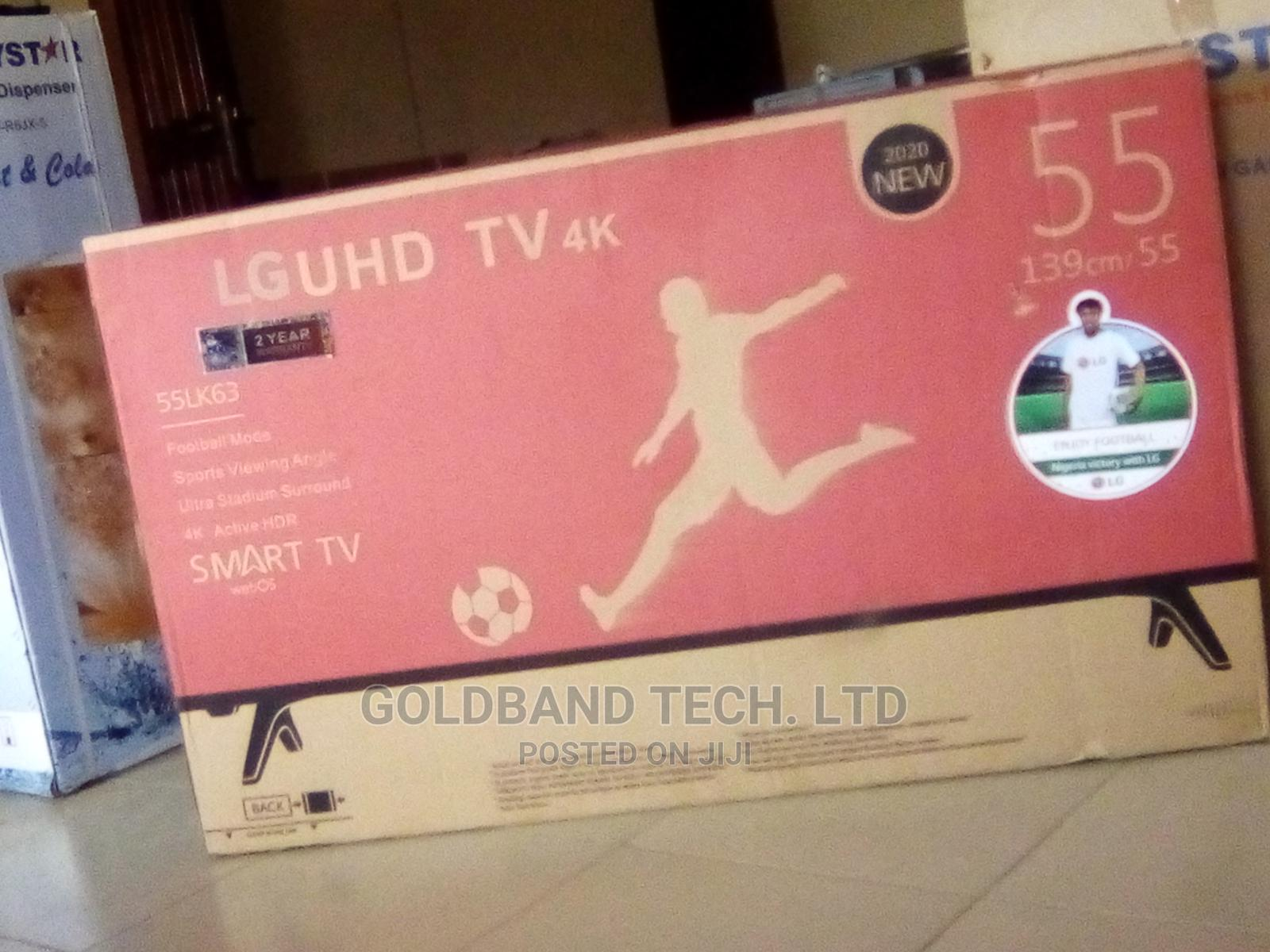 LG 55inches Smart TV With Internet Features
