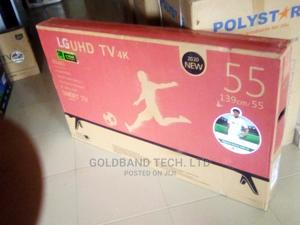LG 55inches Smart Internet Enabled Android TV | TV & DVD Equipment for sale in Lagos State, Egbe Idimu