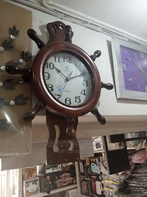 Wooden Wall Clock | Home Accessories for sale in Lagos State, Surulere