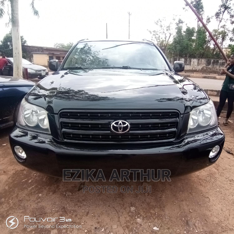 Toyota Highlander 2003 Black