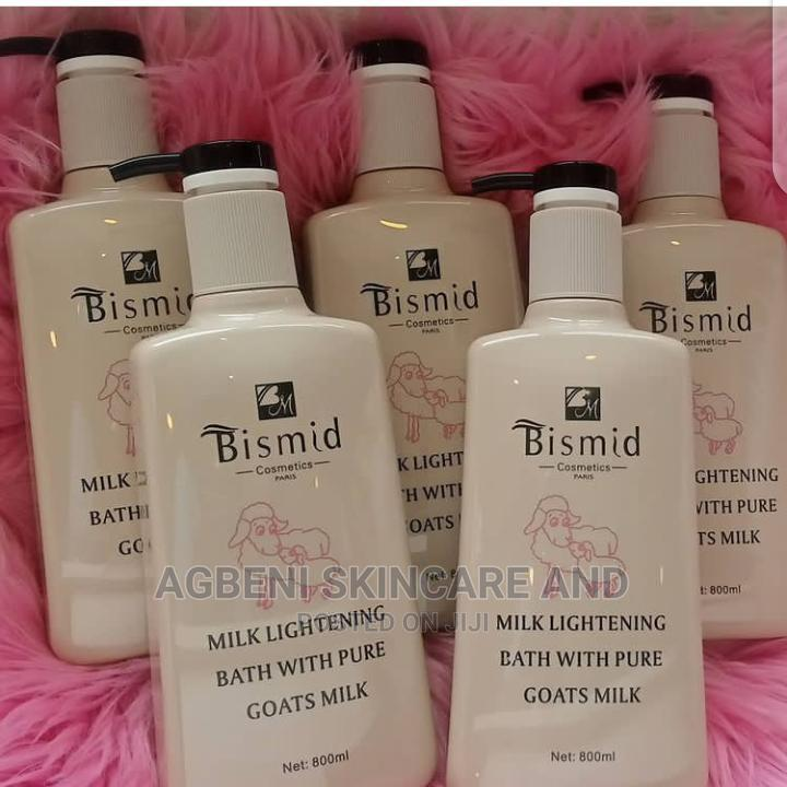 Bismid Milk Whitening Bath With Pure Goat Milk for Sale