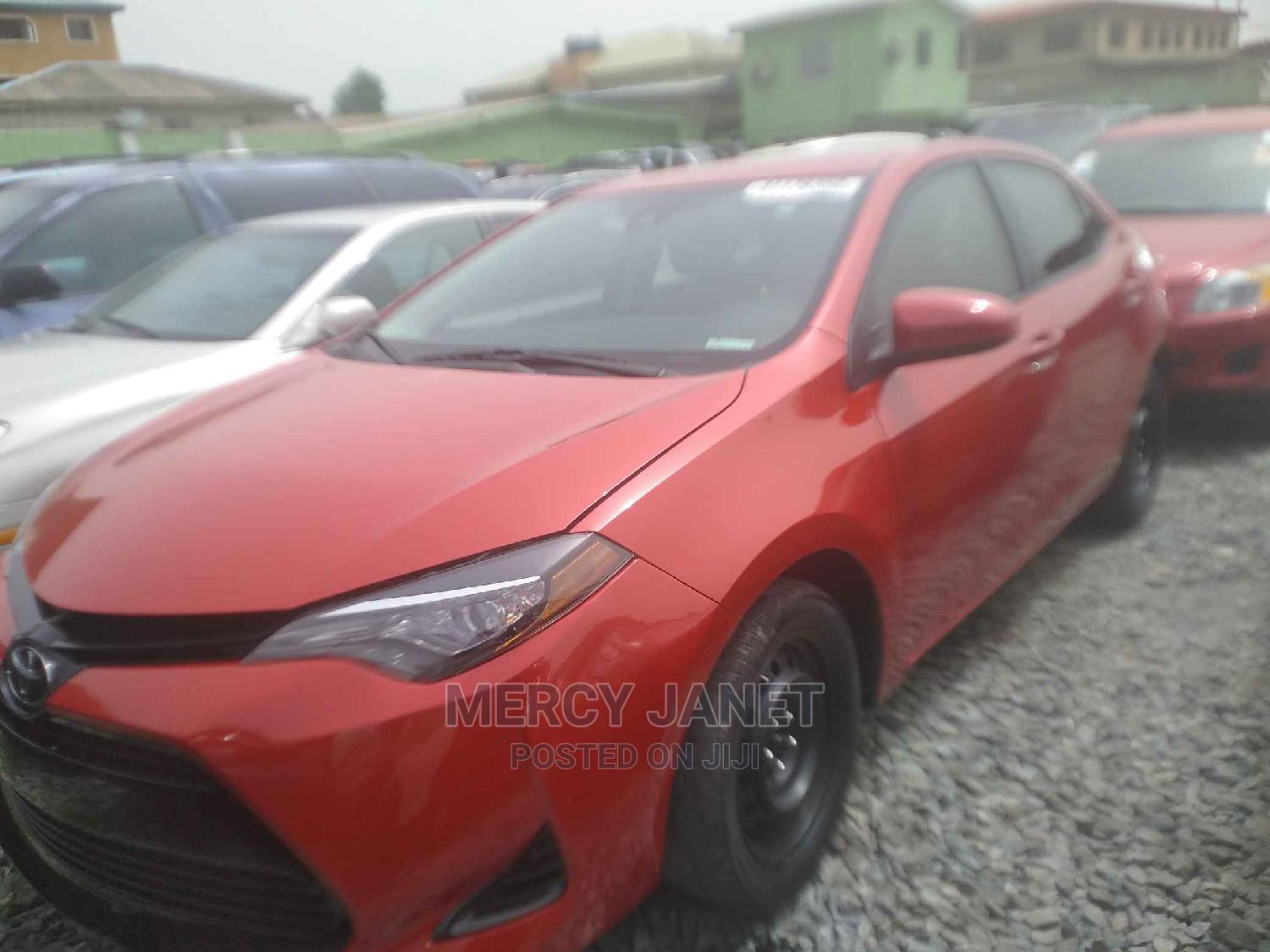 Toyota Corolla 2017 Red | Cars for sale in Ifako-Ijaiye, Lagos State, Nigeria