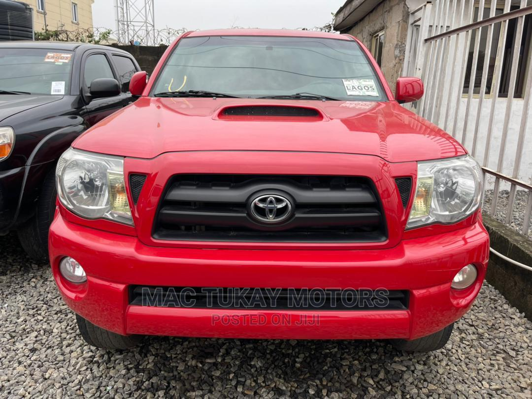 Archive: Toyota Tacoma 2005 Red
