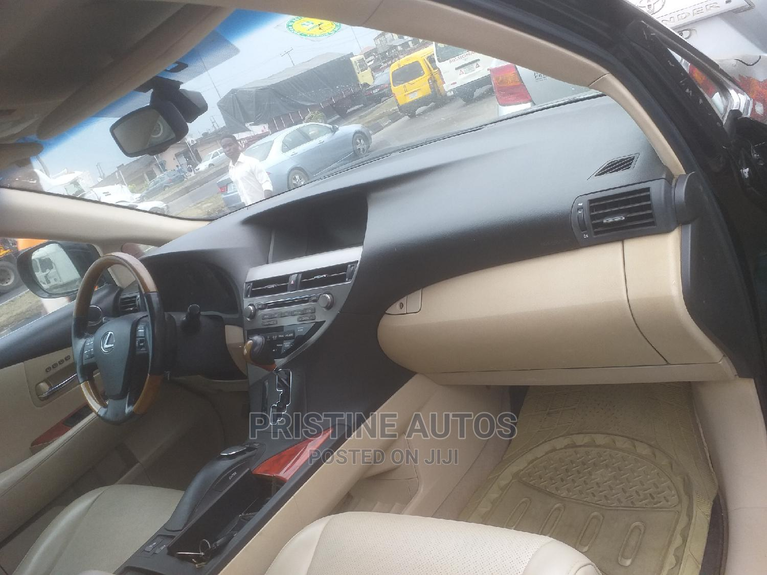 Lexus RX 2010 350 Black | Cars for sale in Surulere, Lagos State, Nigeria