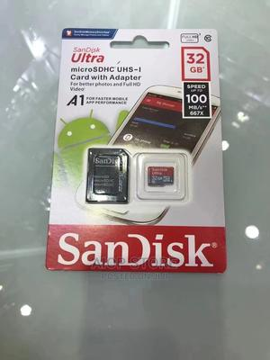 32gb Memory Card Original Sandisk   Accessories for Mobile Phones & Tablets for sale in Rivers State, Port-Harcourt