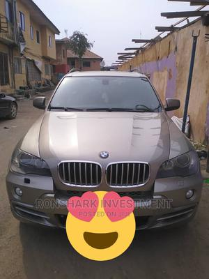 BMW X5 2009 Gold   Cars for sale in Lagos State, Amuwo-Odofin