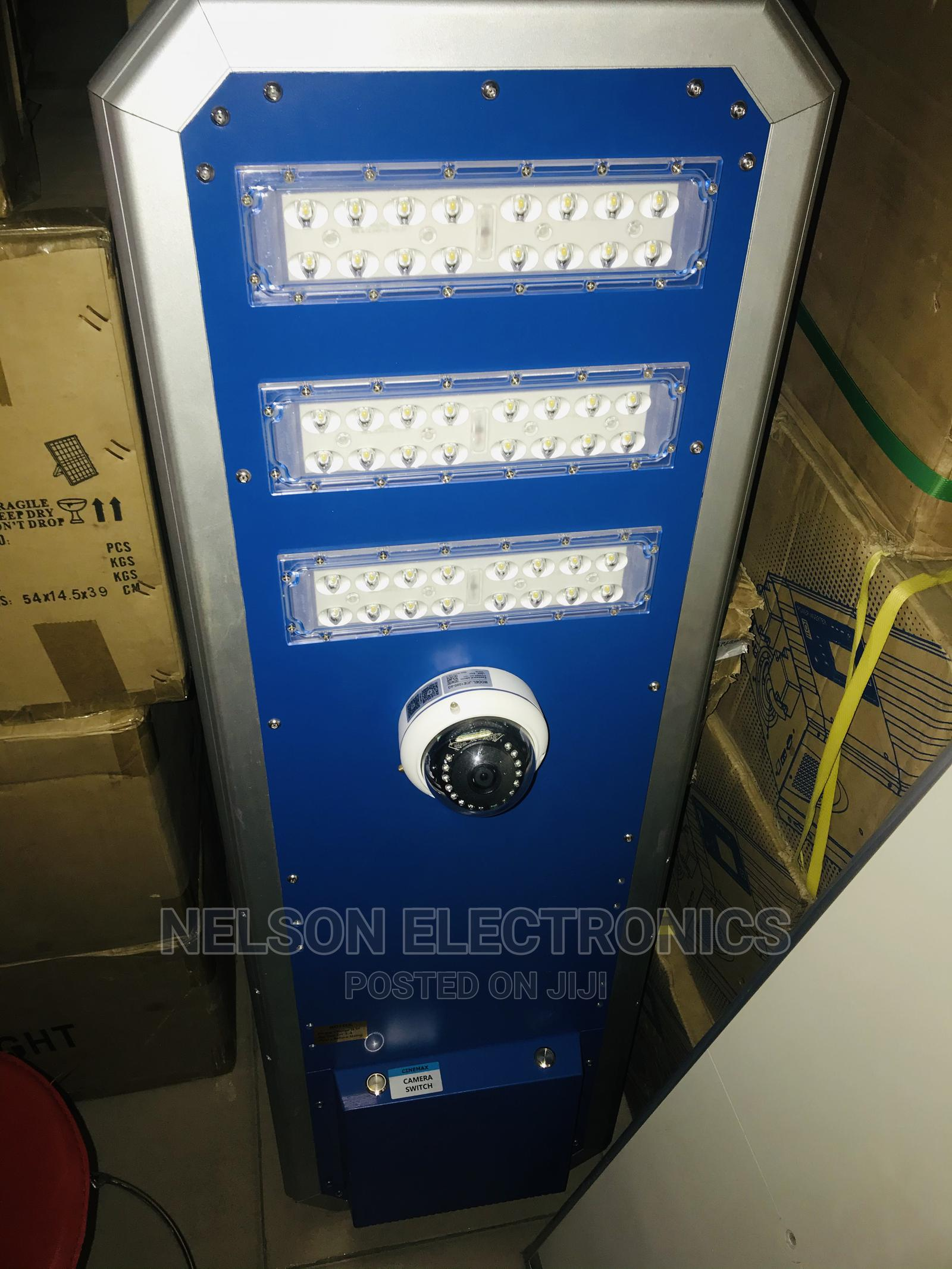 All in One Solar Street Light With CCTV Camera | Solar Energy for sale in Central Business Dis, Abuja (FCT) State, Nigeria